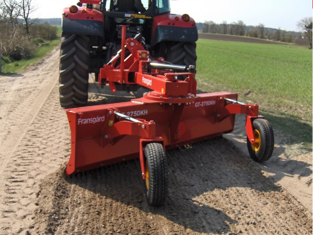 New agriculture machines