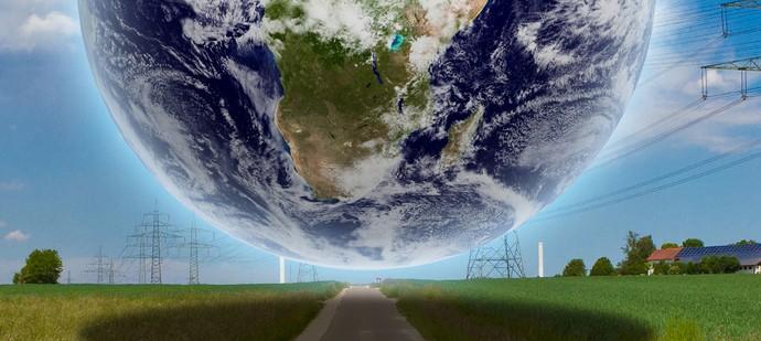 Weltweg - Earth Texture by NASA.gov