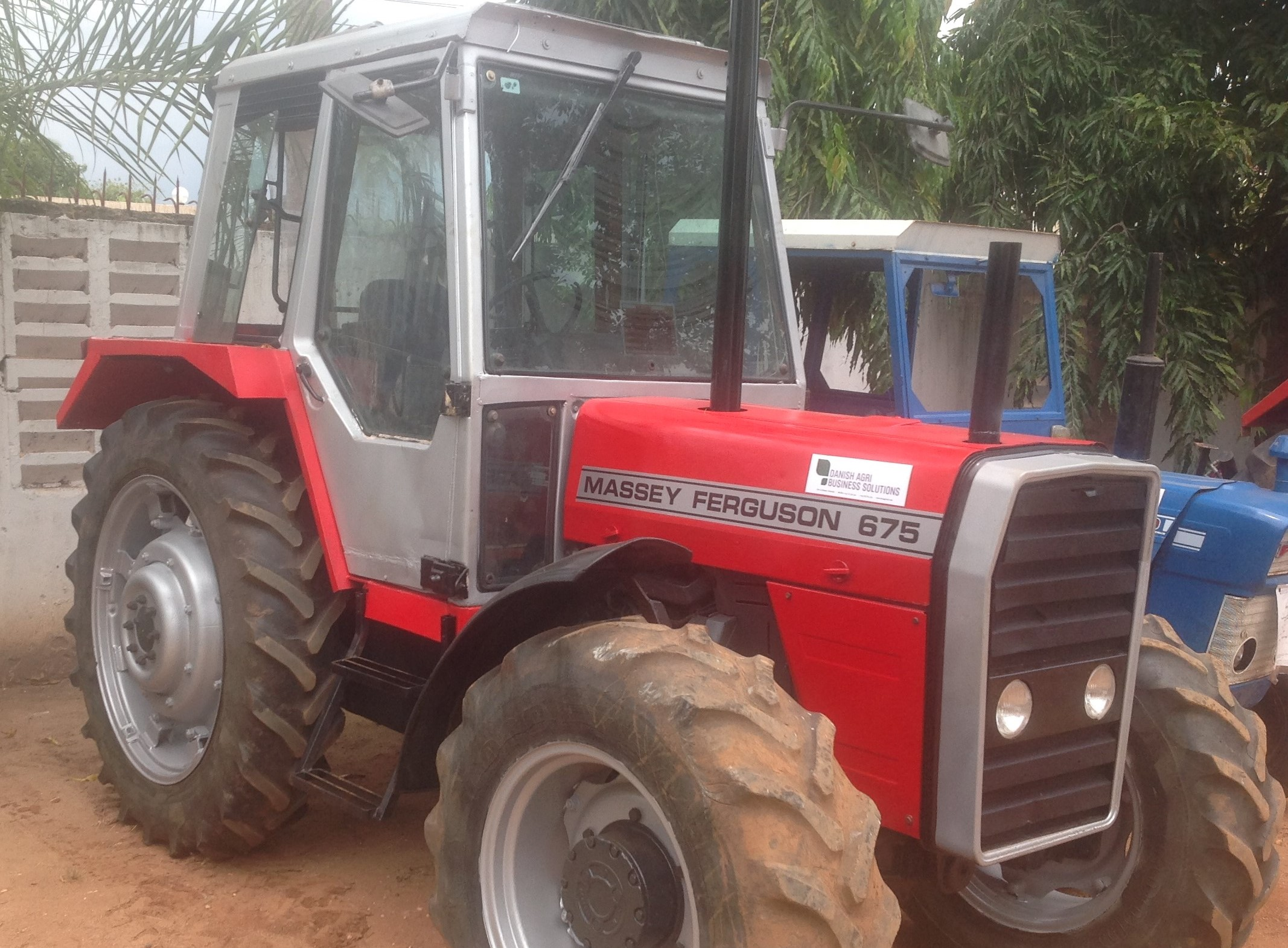 Used tractors and equipment